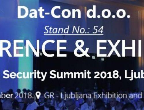 DAT – CON on Adria Security Summit 2018 in Ljubljana